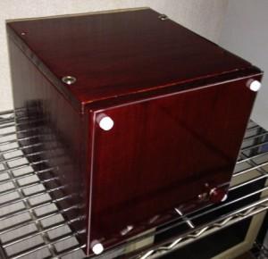 木製パソコンケース